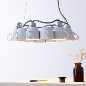 tasses lampe design