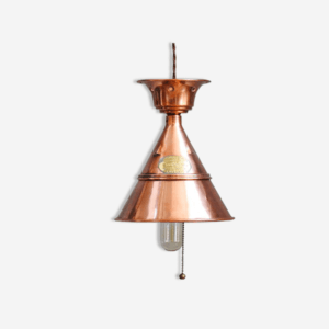 "Suspension : ""Swiftsure Washer Plunger 1910"" - objet détourné - New Decorum - luminaire - vintage"