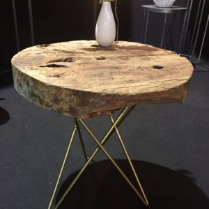 "Table : ""AFFINAGE"" - objet détourné - New Decorum - table - outillage - bois - nature"