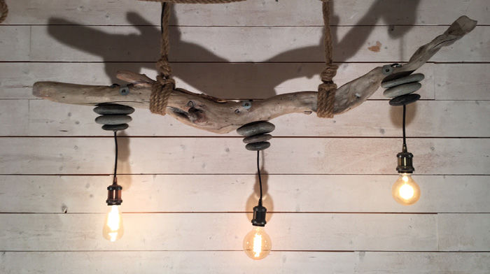 Suspension En Bois Flotte Spiaggia New Decorum